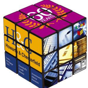 Branded Rubicks Cube