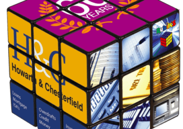 Branded Rubicks Cube