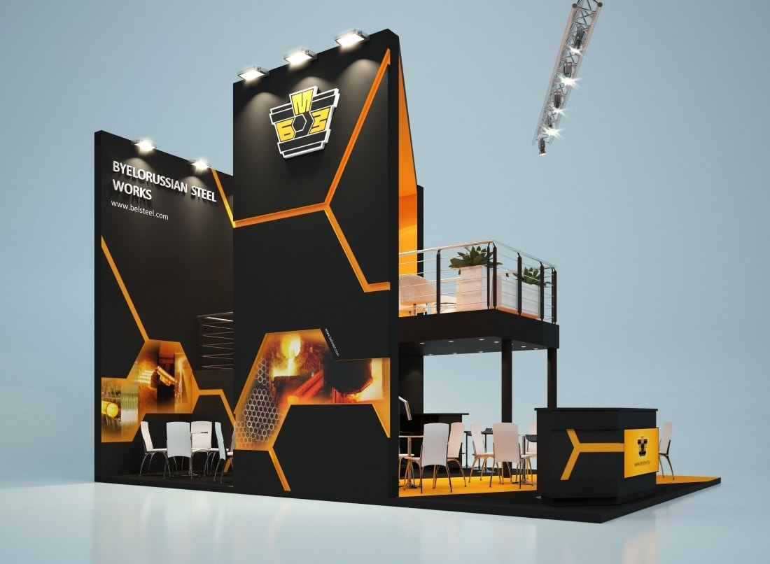 Two Story Trade Show Rental