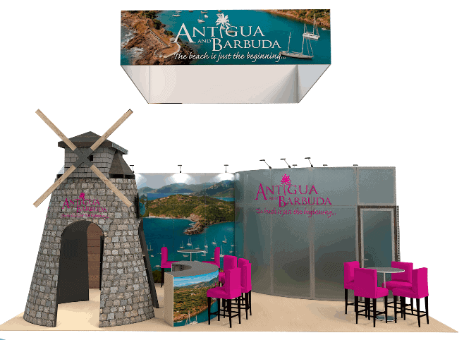 20 x 30 Discount Stand Rental