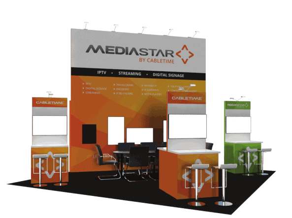 20 x 20 NAB Exhibit Rental