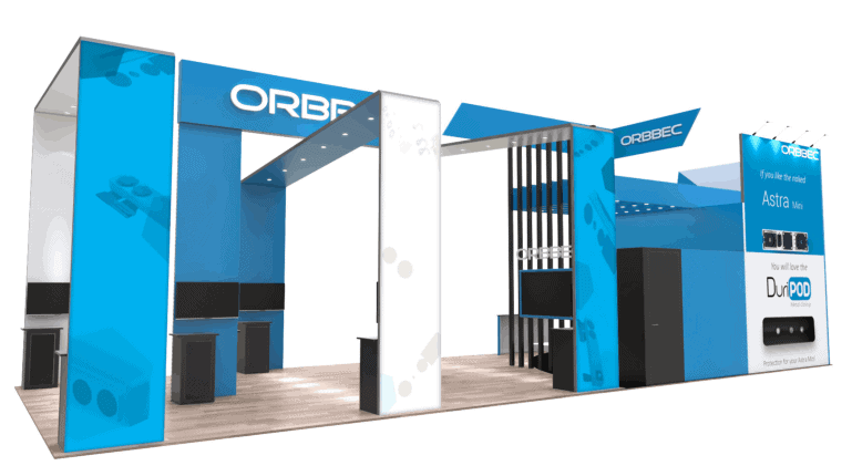 20 x 50 NBAA Orlando Exhibit Rental 5