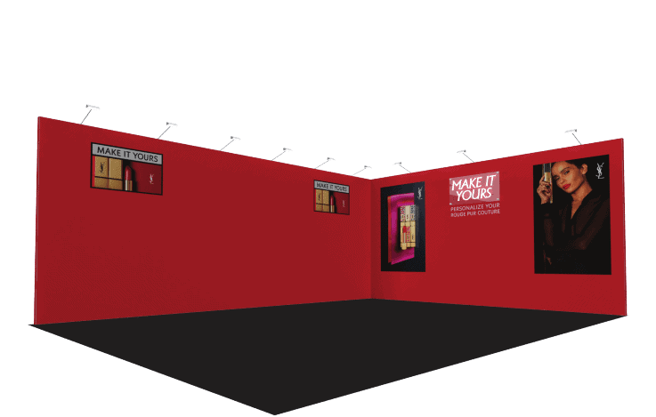 15 x 20 Modular Exhibit Rental