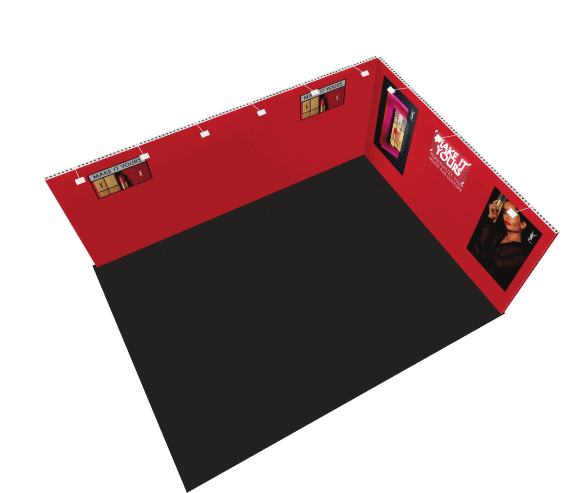 15 x 20 Modular Exhibit Rental 4