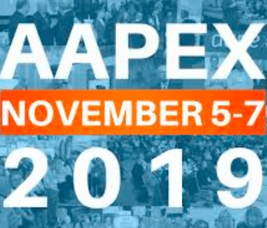 AAPEX 2019 November 5-7, Is your Exhibit Ready?