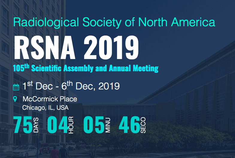 RSNA 2019 Exhibit Rental